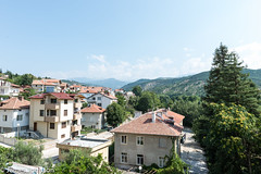 Room with a view (jjohnson2012) Tags: trees houses holiday mountains woodland bulgaria scenary clearsky roomwithview landscapephoto bulgarianlandscape bulgariatown foreigntown