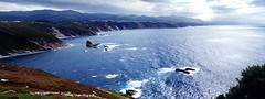 Panorámica cabo Vidio (ines valor) Tags: costa mar cabo asturias nwn acantilados vidio