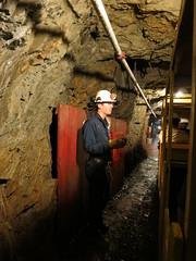Inside the mine (Ruth and Dave) Tags: train underground tour tunnel guide dynamite britanniabeach britanniaminemuseum