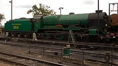 850 (JOHN BRACE) Tags: shed railway nelson lord class 350 mid 1926 ln 460 ropley hants 030913