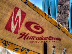 Waikiki Surfboard (topendsteve) Tags: hawaii surf waikiki oahu surfboard hawaiian
