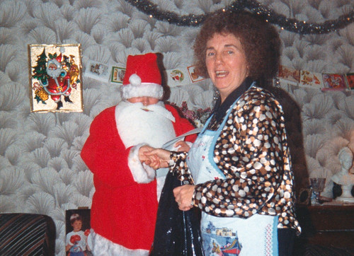 Jean Hart Christmas Day Carntyne Road 1990s