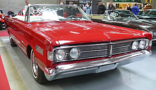 Mercury S-55 Cabrio red 1966 vr
