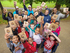 London, England - Shawn McAteer, Anne Thompson, John Greenleaf and Team Members from Thames 21 with teachers and children from Haseltine Primary School (HiltonWorldwide) Tags: uk london corporate community day hilton grand week service hotels hampton volunteer conrad vacations embassysuites volunteerism hiltonhhonors doubletreebyhilton hiltonworldwide hiltonhotelsandresorts travelwithpurpose tnrphoto
