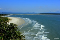 Ilha do Mel (Mandeandrade) Tags: sea praia beach water gua mar do areia wave mel ilha onde mandeandrade
