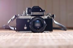 The Classic Nikon F2. (DigitalCanvas72) Tags: metal artistic retro flashphotography vintagecamera nikonf2 35mmfilmcamera nikond7000 85mm18g nikonsb700 sb700speedlight nikkor85mm18g classicnikonf2 nikon50mm14scauto nikkor50mm14scauto