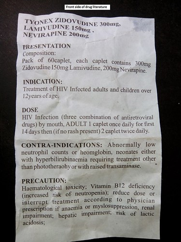 NGOs Condemn the Supply of Sub-standard ARVs at Treatment Centres in Nigeria (10/24/13)