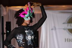 (K. Sawyer Photography) Tags: portrait woman fashion model dress mask formal fashionshow runway albuquerquenewmexico hotelalbuquerque penniesforthehomelessahighteaandfashionshow penniesforthehomeless