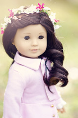 Jess (KaraleeLS) Tags: pink brown girl hair asian eyes doll year jacket american ag jess brunette goty