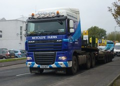 X40 MET (Cammies Transport Photography) Tags: road truck lorry farms metcalfe grangemouth daf xf beancross x40met