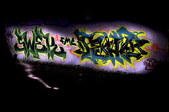FMC-Serial: Swek-Pent  Night-Pieces BXLII - 1853x (Jupiter-JPTR) Tags: germany graffiti cologne colonia nightshots halloffame ccaa pent nightvisions fmc jptr swek hallb hallworks nightpieces serialsensembles fmcserial
