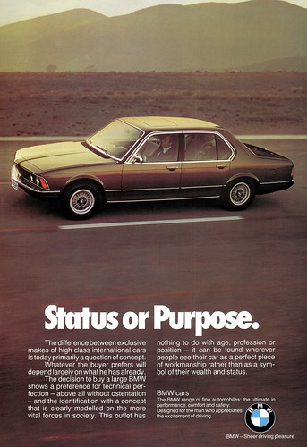 BMW 7er (1978) E23 Status or Purpose
