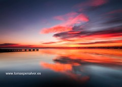 Sunrise SdlR 20131130 II (tpealver - www.tomaspenalver.es) Tags: sunrise murcia amanecer marmenor santiagodelaribera tokina1116 nd09rv
