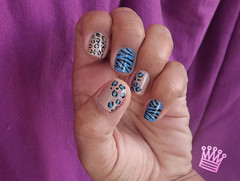 Animal Print (PamelaOlliveira) Tags: animal print unhas nailart capricho oncinha esmalte zebrinha esmaltedasleitoras unhadasleitoras