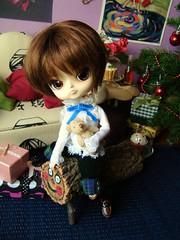 Shinobu Tachibana (Lunalila1) Tags: christmas boy male navidad outfit doll 21 dal noel ciel phoebe groove concurso custom nadal tachibana ti shinobu caga obitsu 2013 kuroshitsuji