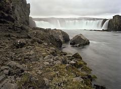 Godafoss (JaZ99wro) Tags: film analog iceland islandia godafoss c41 portra160 nd8 mamiya645protl epsonv750 f0246 negfix8 tetenal2bathkit exif4film