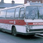 Northern 5051 GGR399N newcastle may86 jb164w