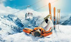 Skier_for_Rostelecom (Denis Kornilov) Tags: mountains photomanipulation photoshop advertising skier retouching фотограф горы реклама ретушь фотошоп лыжник фуникулер rostelecom рекламный ретушер ростелеком копирайтер