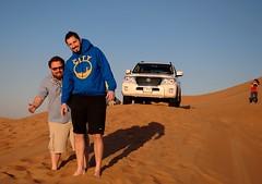 Deserto Dubai 3 (franco nadalin) Tags: dubai uae citta deserto torri emirati nikond3200 franconadalin vision:outdoor=099 vision:sky=0652