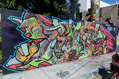 Art Basel Leftovers (the real miami vice) Tags: street people art graffiti mural paint downtown artist miami district progress artsy artists piece overtown artbasel wynwood therealmiamivice trmvphoto