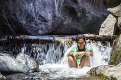 Jepiper en HDr (Ricardo.M.P) Tags: rio river relax glasses waterfall agua hdr relajo cascada relajado