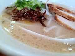 Shiromaru Motoaji from Ippudo @ Ebisu (Fuyuhiko) Tags: from soup tokyo pig pork ramen chew  bone sliced ebisu broth  shu   ippudo   shiromaru    motoaji