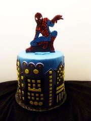 Spiderman Cake by Yvonne, Twin Cities, MN, www.birthdaycakes4free.com