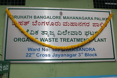 Organic Waste Treatment Plant