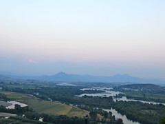 Uitzicht vanaf Rozafa kasteel