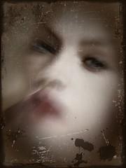 Blurred portrait (7) (april-mo) Tags: portrait blur experimental blurred womanportrait deliberatemotionblur blurredportrait