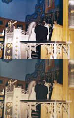 sabbdo_midlandbeach_20130413_008_cr_RIP_GHv1_st_splice_vert (CARE for Sandy) Tags: charity blue wedding yellow photoshop groom bride transformation photoshopped sandy hurricane altar restoration priest beforeandafter volunteer damaged photorestoration inspiring beforeafter transformed thenandnow naturaldisaster c3 philanthropy repaired volunteerism hurricanesandy superstormsandy careforsandy careforsandyorg