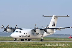 DHC7-103 C-FJHQ TRANS CAPITAL / UNITED NATIONS (shanairpic) Tags: un shannon unitednations dash7 dhc7 propliner transcapital cfjhq