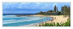 Snapper Rocks (Brett Huch Photography) Tags: ocean sea seascape beach water surf waves seascapes surfer australia surfing qld queensland aussie coolangatta snapperrocks wavesbreaking