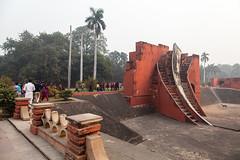 Jantar Mantar - Delhi (Rachel Dunsdon) Tags: india building locals delhi observatory jantarmantar inindia2014