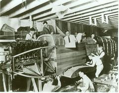 1920 Workers build an aircraft (FAA News) Tags: aircraft 1920 aviationhistory aircraftconstruction aircraftmanufacturing faanews