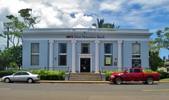 Bishop National Bank of Hawaii (Teemu008) Tags: 1920s hawaii bank kauai johnmason classicalrevival