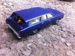 Basic Mercury Repaint (HrExplorer) Tags: blue cars car mercury american melina matchbox stationwagon