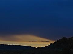 Soft Cloud (Deepgreen2009) Tags: sunset cloud weather veil horizon surrey hills brockham