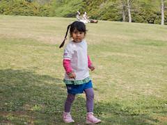 A girl in the park (kasa51) Tags: park people girl japan spring yokohama