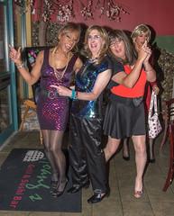 The New Charlie's Angels! (kaceycd) Tags: pumps highheels s tgirl stilettoheels pantyhose crossdress spandex lycra tg stilettos minidress sexypumps opentoepumps platformpumps stilettopumps peeptoepumps tstrappumps