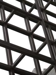 Inside (by_irma) Tags: abstract lines cityhall denhaag thehague architectuur lijnen diagonalen