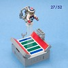 Rocket Man (ted @ndes) Tags: man field football lego stadium rocket minifig vignette jetpack stuntman 8x8 rocketbelt 8x8x52