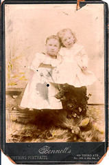 "Ruths mother Lucy ONeill (standing) and Uncle Billy • <a style=""font-size:0.8em;"" href=""http://www.flickr.com/photos/42153737@N06/14551449796/"" target=""_blank"">View on Flickr</a>"