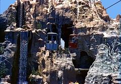 Matterhorn, July 1962 (Tom Simpson) Tags: vintage waterfall disneyland disney matterhorn 1962 skyway matterhornbobsleds vintagedisneyland vintagedisney