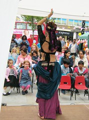 Belly Dance Fusion 6 (valya.alexander) Tags: street woman london festival square dance dancing audience arts july dancer belly fusion 5th sydenham 2014 queensthorpe