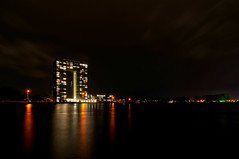 Tasman Tower | Groningen (frata60) Tags: nikon d300s tokina 1224mm groningen longexposure le tasman tower toren nightshot avondfotografie city stad sky netherlands nederland landscape landschap