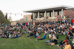 Colorado State University Homecoming (ColoradoStateUniversity) Tags: 2016homecoming 2016homecomingbonfireandfireworks homecoming csucategories csucampusevents crowds fans