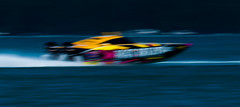 Colourful-blur_DSC3409 (Mel Gray) Tags: powerboat powerboatracing hogsbreath lakemacquarie sport watersports