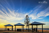 At the End of the Day - Explored 22/10/16 (Beth Wode Photography) Tags: sundown dusk cirrus clouds wispyclouds wellingtonpoint redlands picnic picnichuts picnicsheds bluesky beth wode bethwode