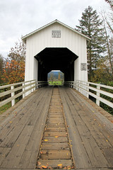 Parvin Bridge (Slideshow Bruce) Tags: parvin covered bridge lowell orgon